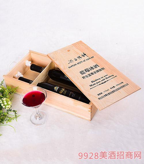 长安猎神蓝莓冰酒375mlx2