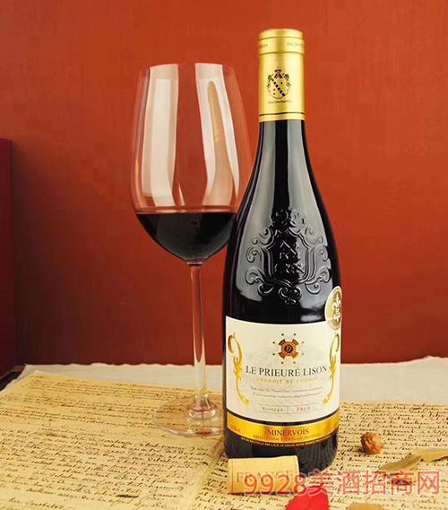 法国乐颂干红葡萄酒