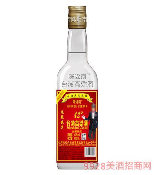 陈近南台湾高粱酒42度600ml