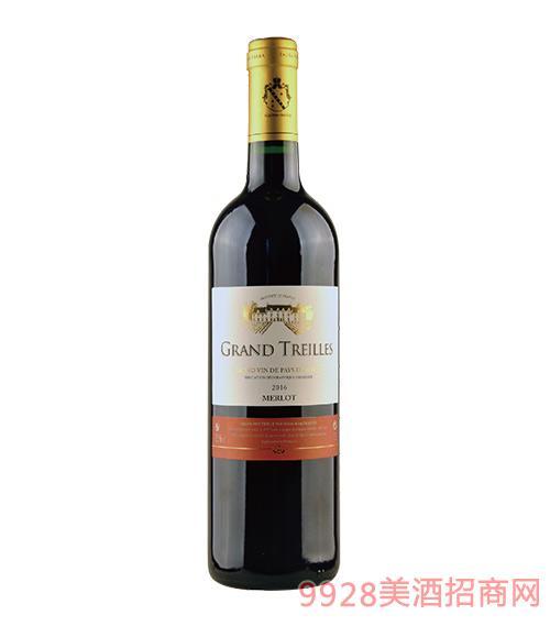 法国泰来干红葡萄酒