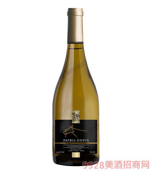 智利帕杰尼珍藏霞多丽干白葡萄酒