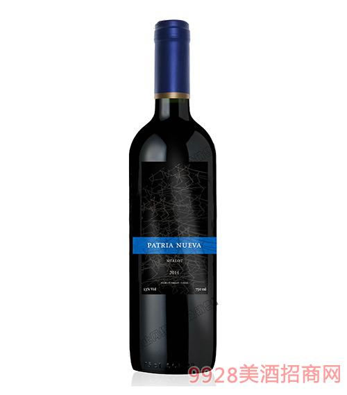 智利帕杰尼梅洛干�t葡萄酒750ml