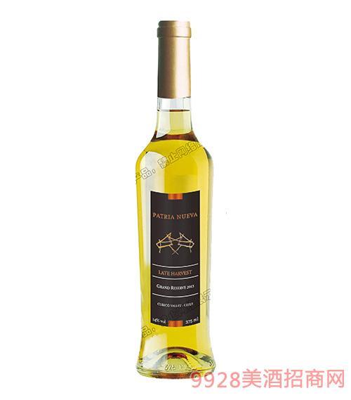 智利帕杰尼特选珍藏晚摘甜白葡萄酒