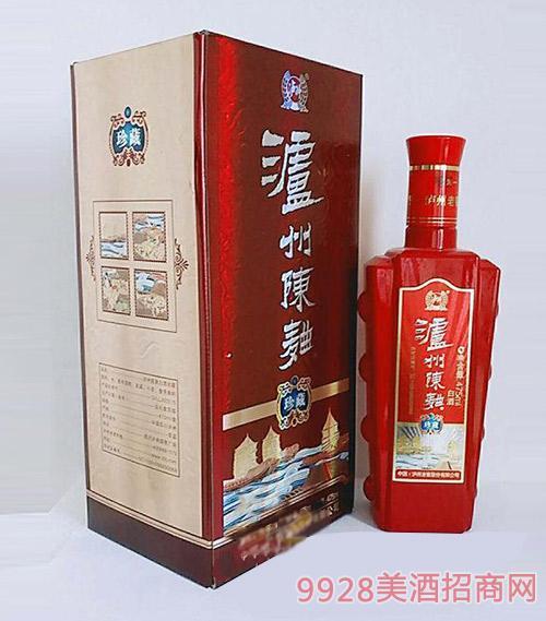 瀘州陳曲白酒珍藏500ml