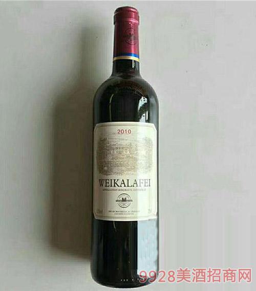 威卡拉菲梅洛干红葡萄酒