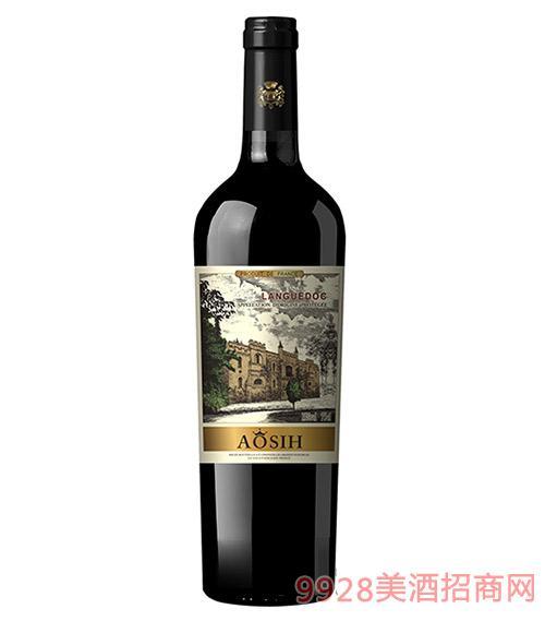 奥思皇·城堡荣尊干红葡萄酒