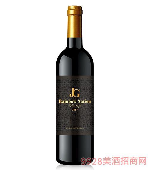 艾隆堡®彩虹之国品诺塔吉干红葡萄酒