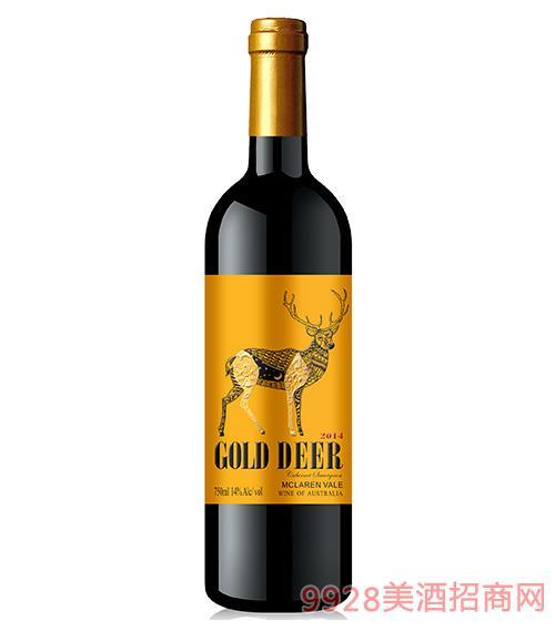 艾隆堡®金鹿干红葡萄酒