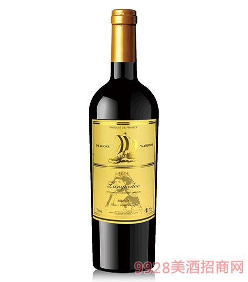 龙船勇士征服者朗格多克干红葡萄酒