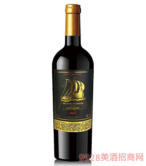 龙船勇士将军朗格多克干红葡萄酒