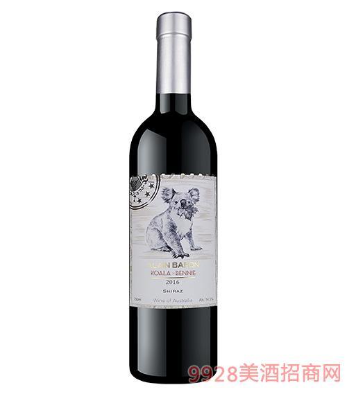 艾隆堡澳洲考拉西拉子干红葡萄酒