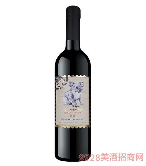 艾隆堡澳洲考拉赤霞珠干红葡萄酒
