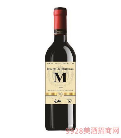 穆雷有机干红葡萄酒12.5度750ml