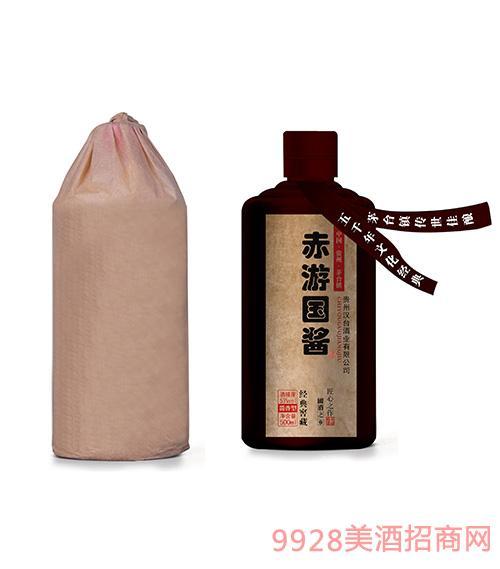 赤游���u酒�典窖藏53度500ml