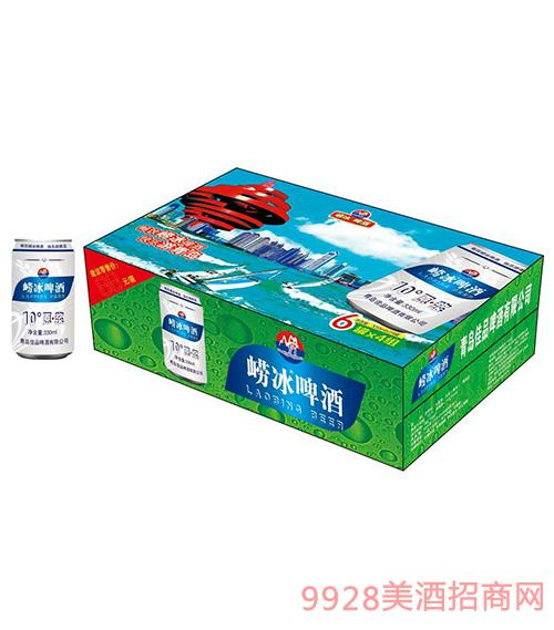 崂冰啤酒-快乐游青岛330mlx24