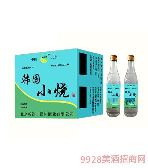 韩国小烧(蓝标)酒