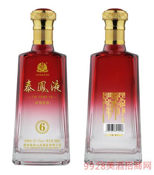 泰凤液酒6 42度500ml