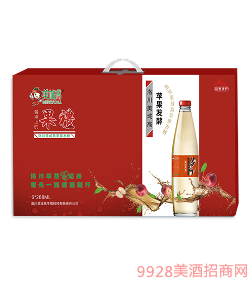 美域高苹果醋268mlx6