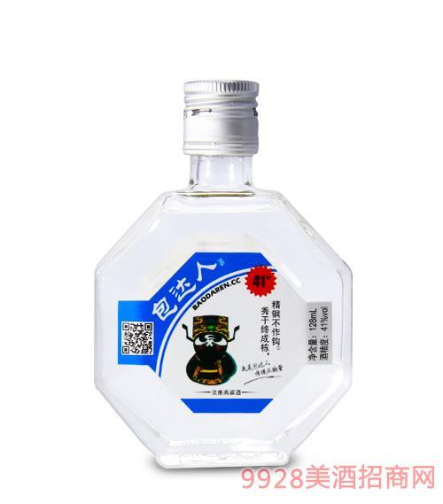 包达人淡雅高粱酒(蓝)41度128ml