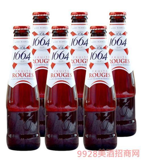 1664啤酒250ml树莓味