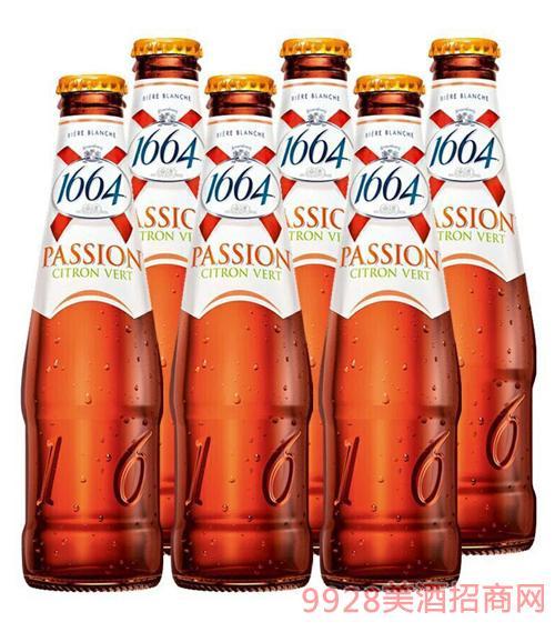 1664啤酒250ml百香果味