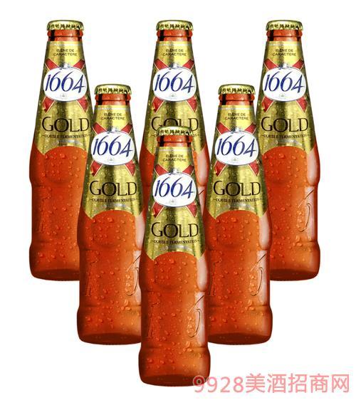 1664啤酒250ml金啤酒