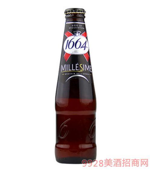 1664啤酒250ml复古味