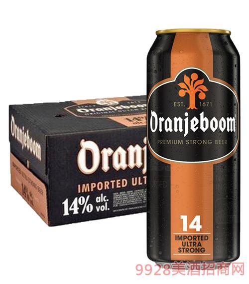 橙色炸弹啤酒14度
