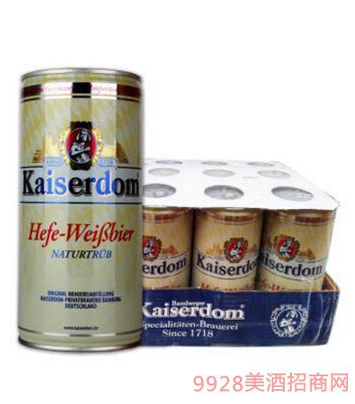 凯撒白啤1L