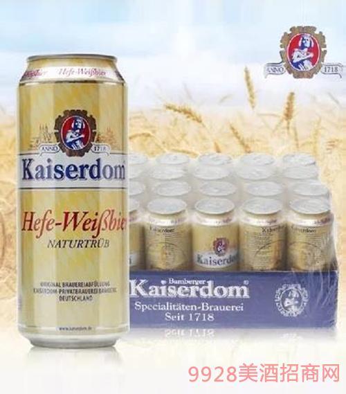凯撒白啤500ml