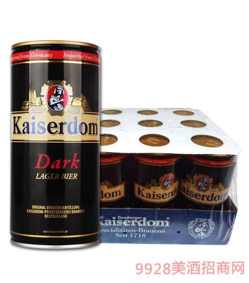 凯撒黑啤1L