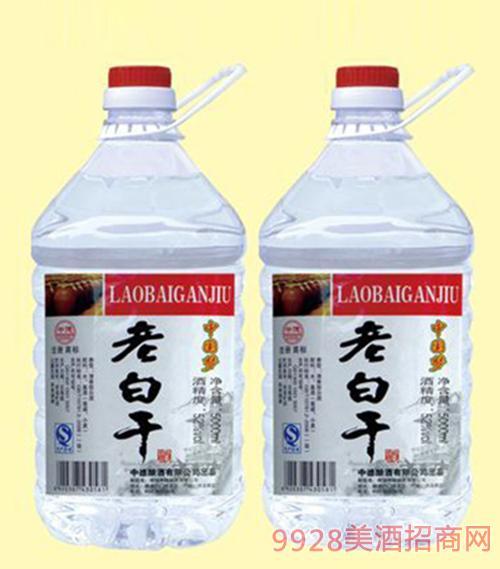 中国梦老白干酒52度5000mlx4