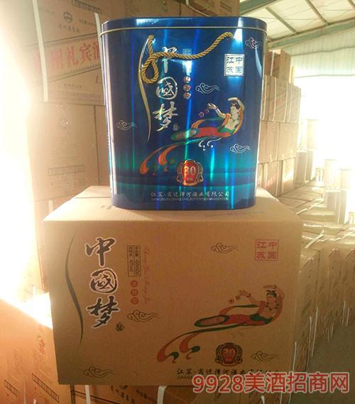中国梦酒20-42度450ml