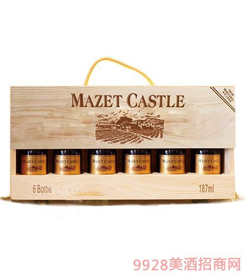 法国马西庄园葡萄酒187mlx6
