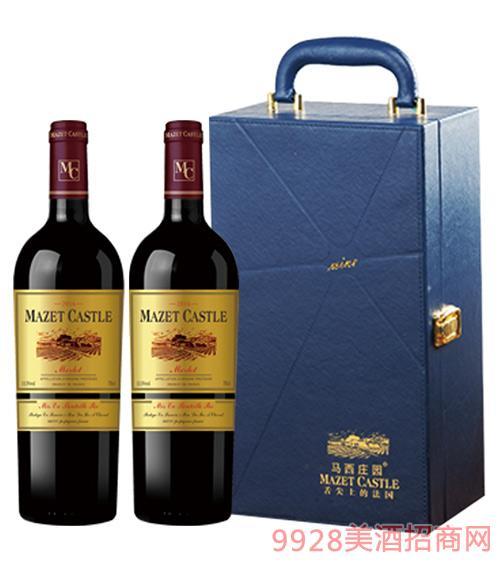 法国马西庄园葡萄酒礼盒