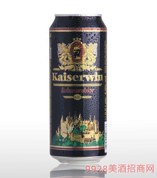 德国凯撒黑啤酒11.4°P500mlx24