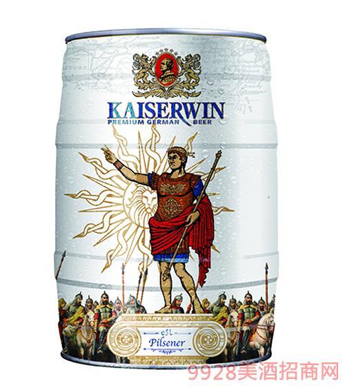 德国凯撒窖藏黄啤酒11.7°P5L