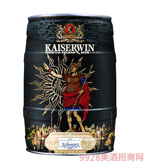 德国凯撒窖藏黑啤酒12.6°P5L