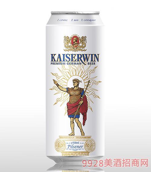 德国凯撒窖藏比尔森啤酒11.7°P500ml