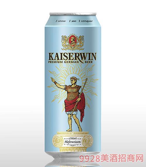 德国凯撒窖藏白啤酒11.8°P500ml