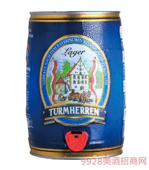 德国凯撒托姆黄啤酒11.5°P5Lx2