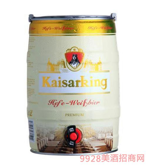 凯撒王白啤酒11°P5L