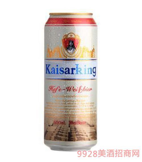 凯撒王白啤酒11°P500ml