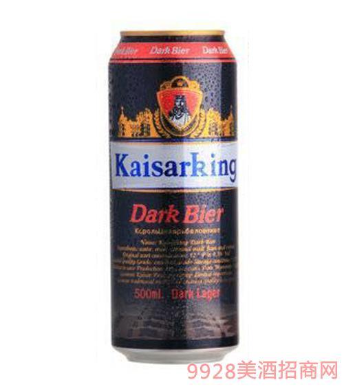 凯撒王黑啤酒12°P500ml