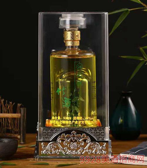 沁之绿天然竹酒45度500ml