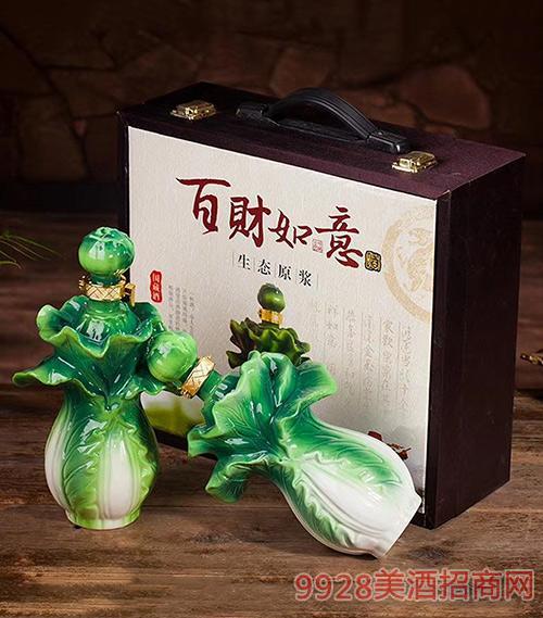 百财如意酒生态原浆礼盒