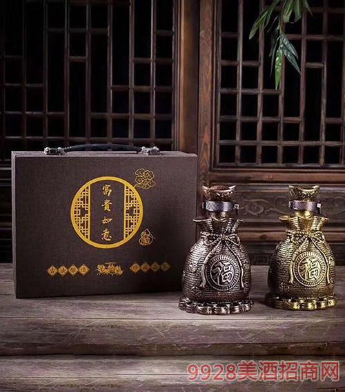 富贵如意酒礼盒