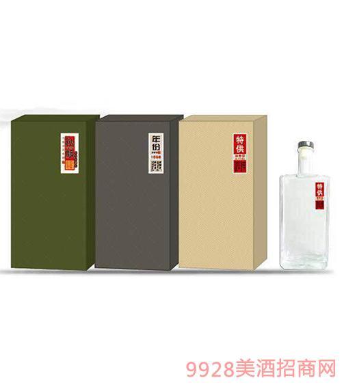 盒装定制酒5号盒