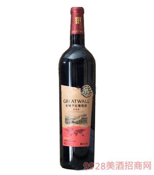 长城北纬40°V5蛇龙珠干红葡萄酒