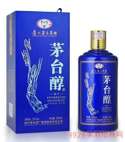茅台醇酒M5-53度500ml